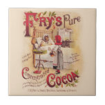 Little Red Riding Hood Cocoa Small Square Tile