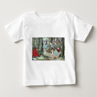 Little Red Riding Hood: End Pages Baby T-Shirt