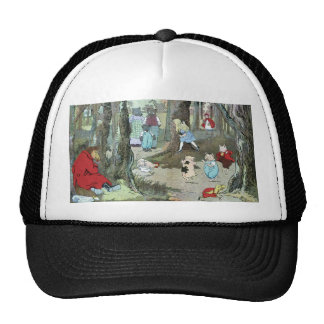 Little Red Riding Hood: End Pages Trucker Hat