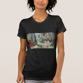 Little Red Riding Hood: End Pages T-shirt