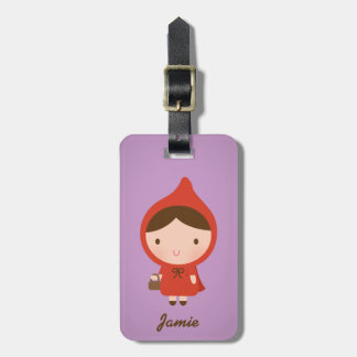 Little Red Riding Hood Fairytale for Girls Bag Tag