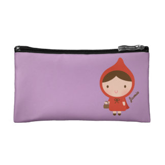 Little Red Riding Hood Fairytale for Girls Cosmetic Bag
