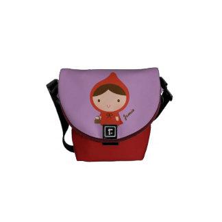 Little Red Riding Hood Fairytale for Girls Messenger Bag