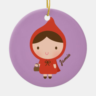 Little Red Riding Hood Fairytale for Girls Christmas Tree Ornaments
