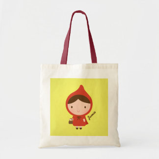 Little Red Riding Hood Fairytale for Girls Tote Bag