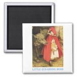 Little Red Riding Hood Fridge Magnets