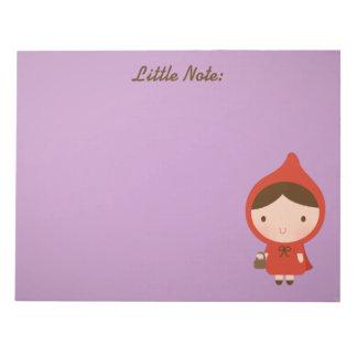 Little Red Riding Hood Girl Memo Notepads