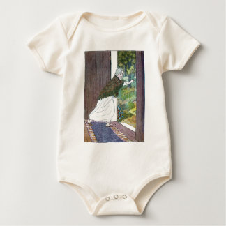 Little Red Riding Hood: Grandma Ran Out Baby Bodysuit