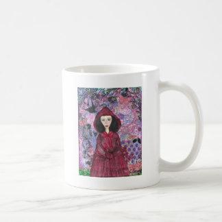 Little Red Riding Hood in the Woods 001.jpg Coffee Mug