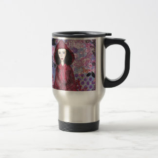 Little Red Riding Hood in the Woods 001.jpg Travel Mug