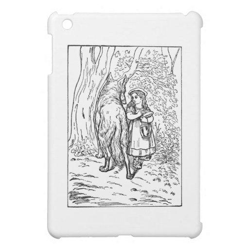 Little Red Riding Hood iPad Mini Cases