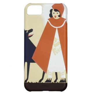 Little Red Riding Hood iPhone 5C Cases