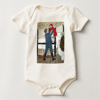 Little Red Riding Hood: Little Red Safe Baby Bodysuit