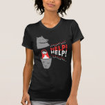 little red riding hood matryoshka and help! shirt