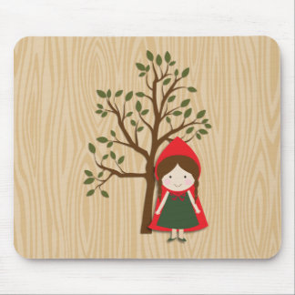 Little Red Riding Hood Mouse Pad