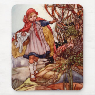 Little Red Riding Hood - Mouse Pad