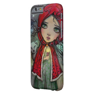 Little Red Riding Hood Outsider Big Eye Art Barely There iPhone 6 Case