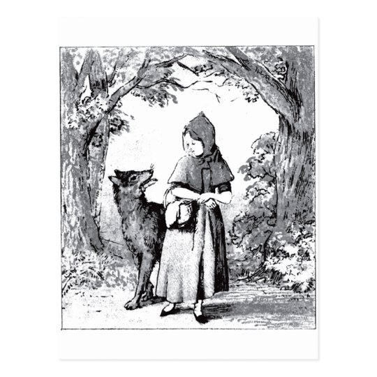 little-red-riding-hood-pictures-3 postcard