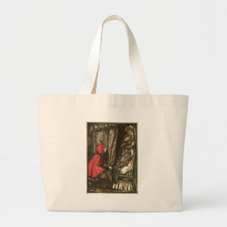 little-red-riding-hood-pictures-5 large tote bag