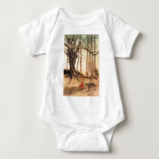 little-red-riding-hood-pictures-6 baby bodysuit