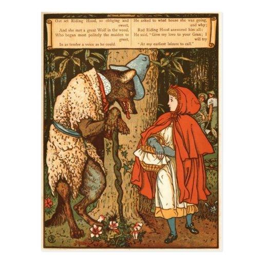 little-red-riding-hood-pictures-9 tarjeta postal