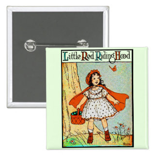 Little Red Riding Hood Pinback Button