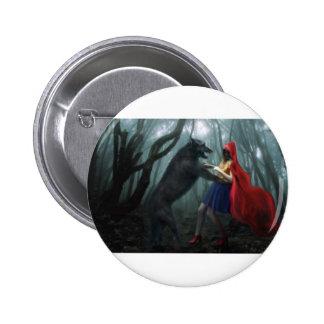 Little Red Riding Hood Pinback Button