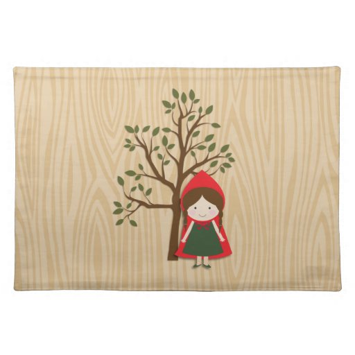 Little Red Riding Hood Placemats