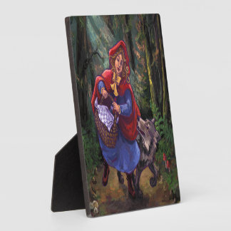 Little Red Riding Hood Display Plaque
