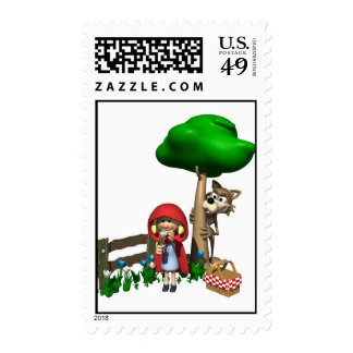 Little Red Riding Hood  Postage