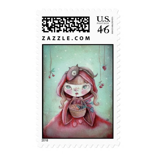 Little Red Riding Hood Postage Stamps