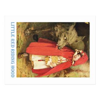 Little Red Riding Hood Postcard