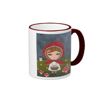 Little Red Riding Hood Ringer Mug