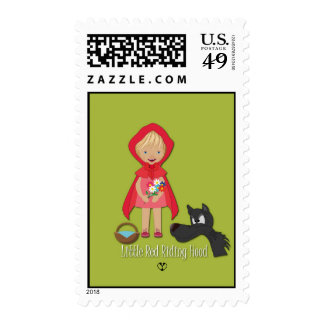 Little Red Riding Hood,  Stamp