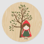 Little Red Riding Hood Stickers