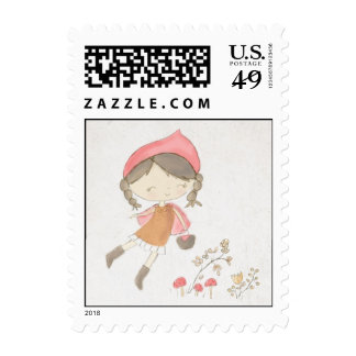 Little Red Riding Hood story book postage