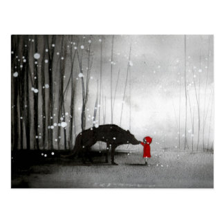 Little Red Riding Hood ~ The First Touch Post Cards