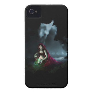 Little Red Riding Hood & the Magic Mushrooms Case-Mate iPhone 4 Case