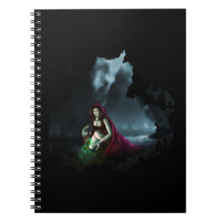 Little Red Riding Hood & the Magic Mushrooms Spiral Note Book