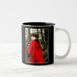 Little Red Riding Hood Two-Tone Coffee Mug
