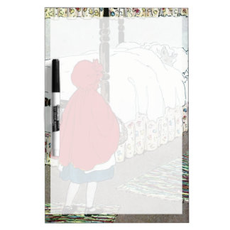 Little Red Riding Hood: What Grat Ears You Have! Dry-Erase Board
