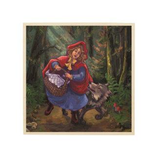 Little Red Riding Hood Wood Wall Art