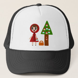Little Red Riding Hood's Cupcake Tree Trucker Hat