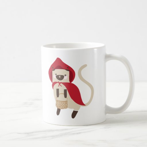 Little Red Riding Kitty Coffee Mug
