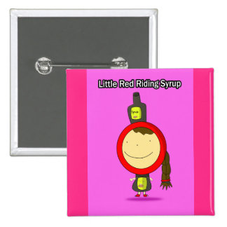 Little Red Riding Syrup Button