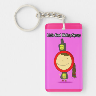 Little Red Riding Syrup Double sided Keychain