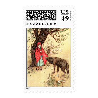 Little Red Ridinghood Stamp