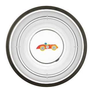 Little Red Roadster Racing Car Child 1st Birthday Bowl