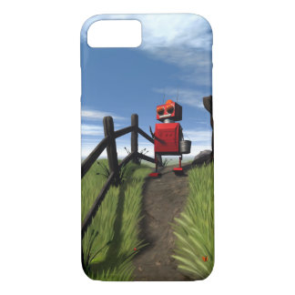 Little Red Robot iPhone 8/7 Case