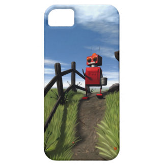 Little Red Robot iPhone SE/5/5s Case